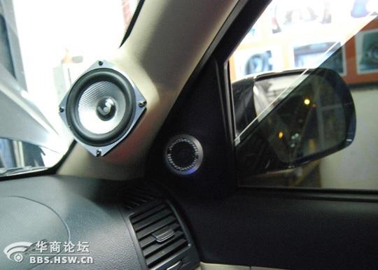 圣达菲汽车音响改装 汽车论坛高清图片