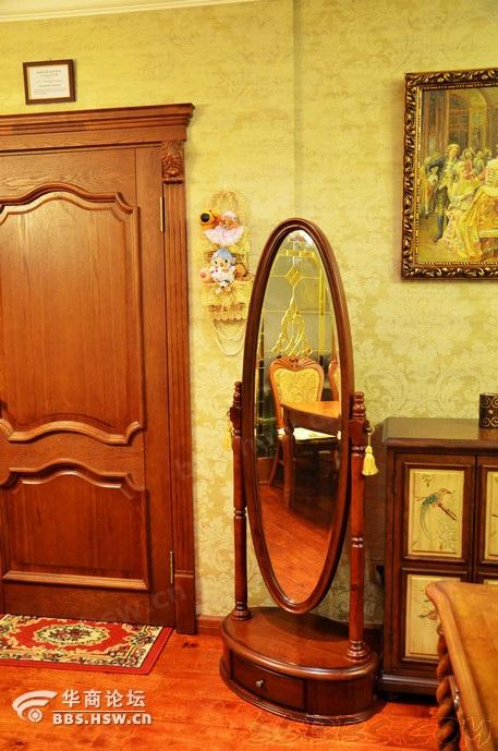 装修 近两年/镜子我到觉得简单大气,欧式家具店买的