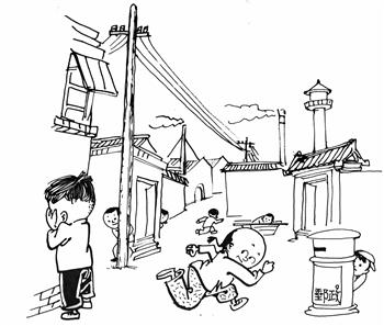 60后当年快乐的童年游戏 - 周周 - 周周的博客