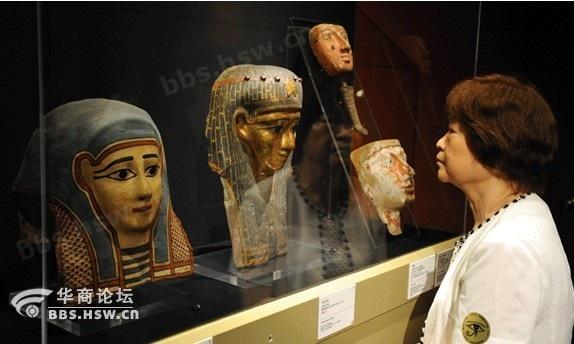 面貌最英俊的皇室木乃伊之—古埃及著名法老拉美西斯二世之   子将复图片