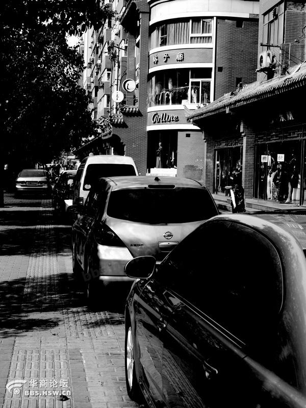 人行道 高清图片