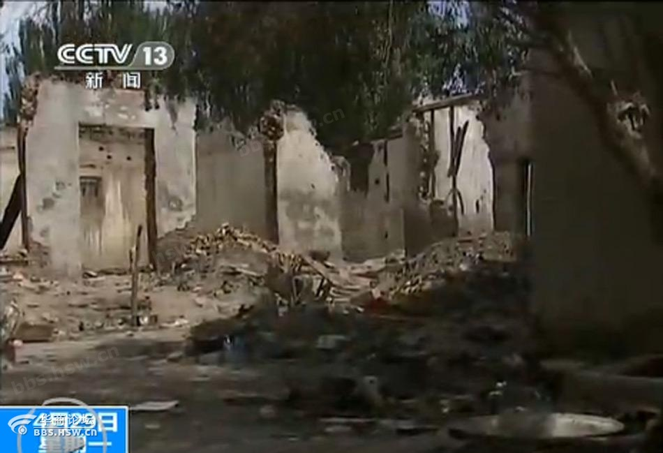 现场画面 新 疆喀什巴楚事件案发现场
