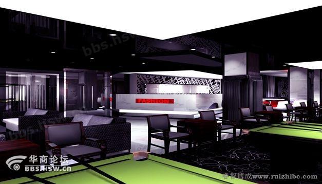 太原台球厅设计效果图 装修论坛 华商论坛 -主题 太原台球厅设计效果图