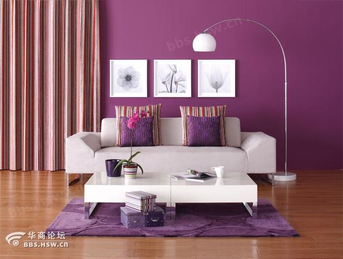 客厅装修客厅的色彩搭配原则