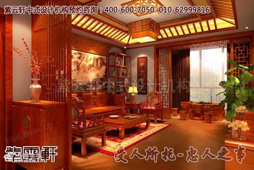 精品住宅简约风格中式家装设计效果图案例 高雅格调高清图片