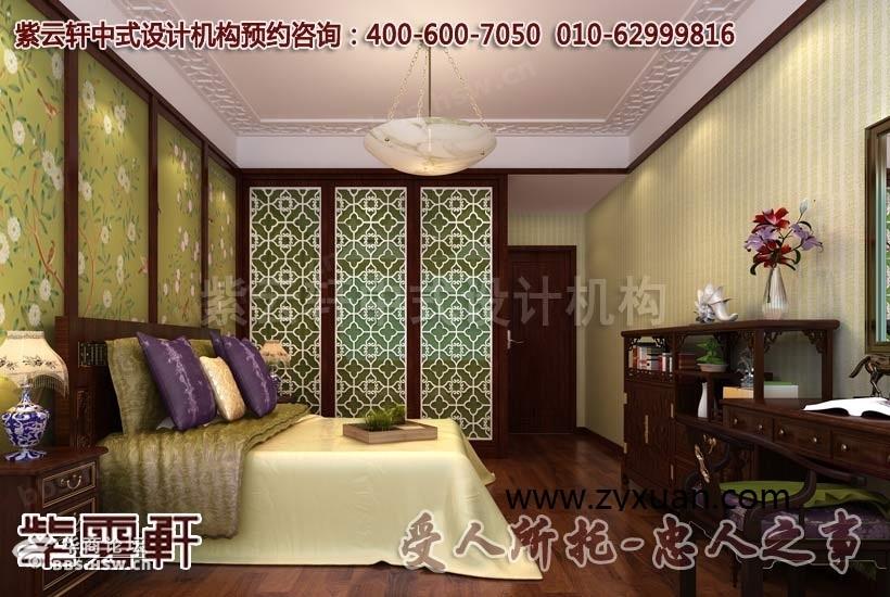中式风格复式住宅设计装修效果图赏析
