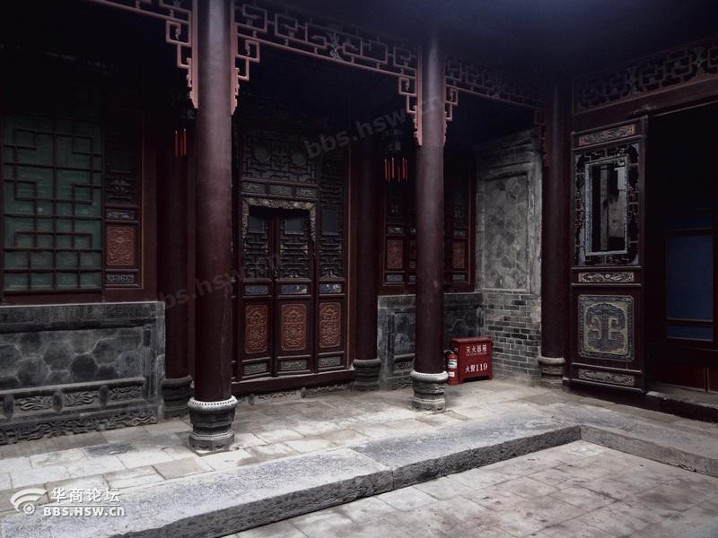 陕西关中古建筑民居 三原周家大院