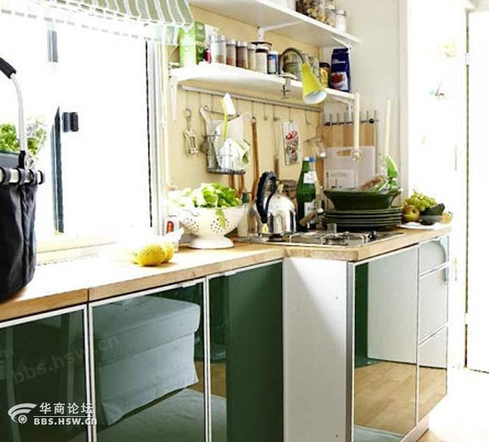 美风格别墅厨房装修效果图