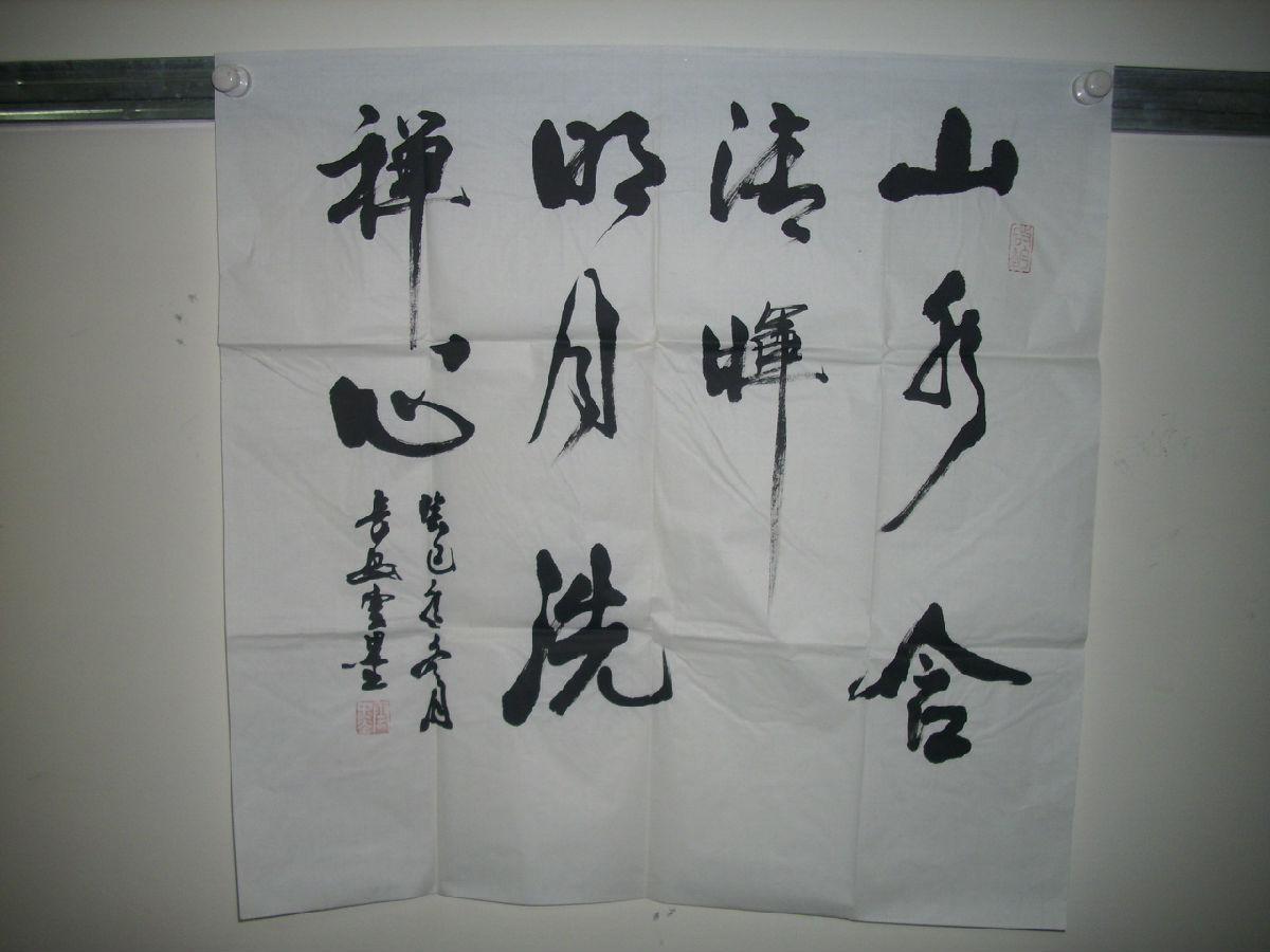 书法家云墨书法作品展示