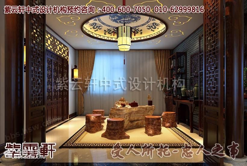 中式风格店面酒店设计效果图赏析