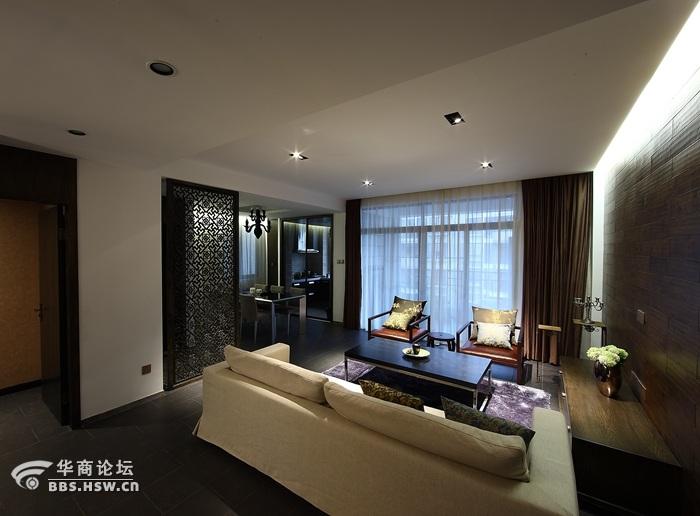 白桦林居 180平米 新中式风格 装修设计分享