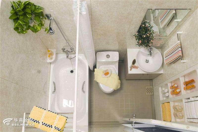 酒店宾馆装修改造专用的整体卫生间集成卫浴可订做