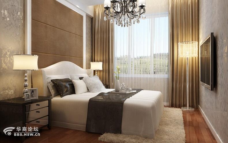 126平凤凰城三居室设计施工一体化装修案例