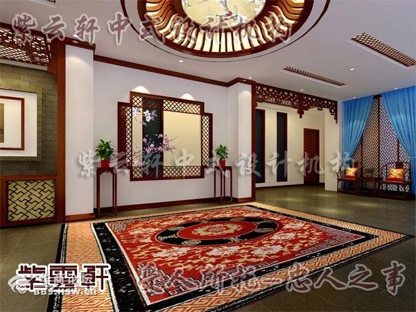 紫云轩中式装修设计之家装门厅装修效果图合集第一季