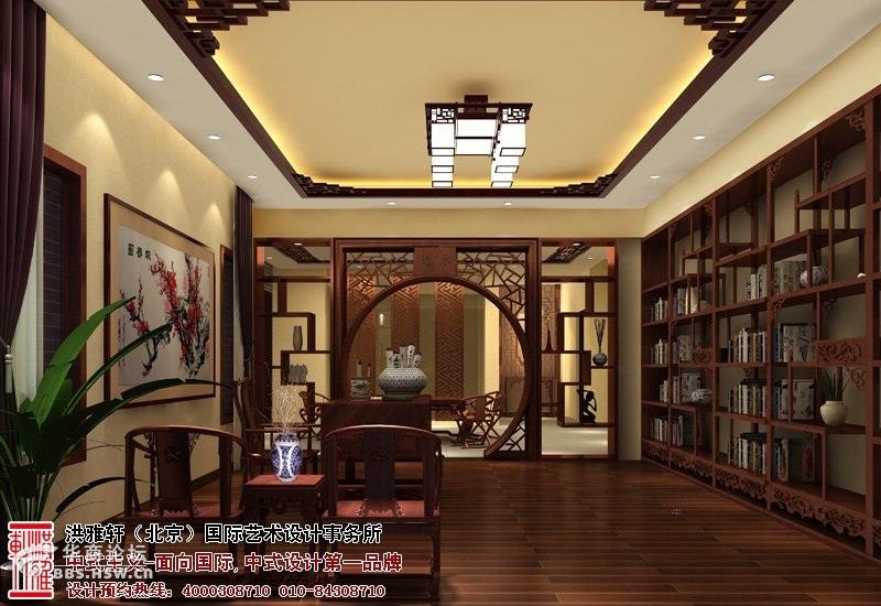 山西精品住宅中式装修设计效果图高清图片