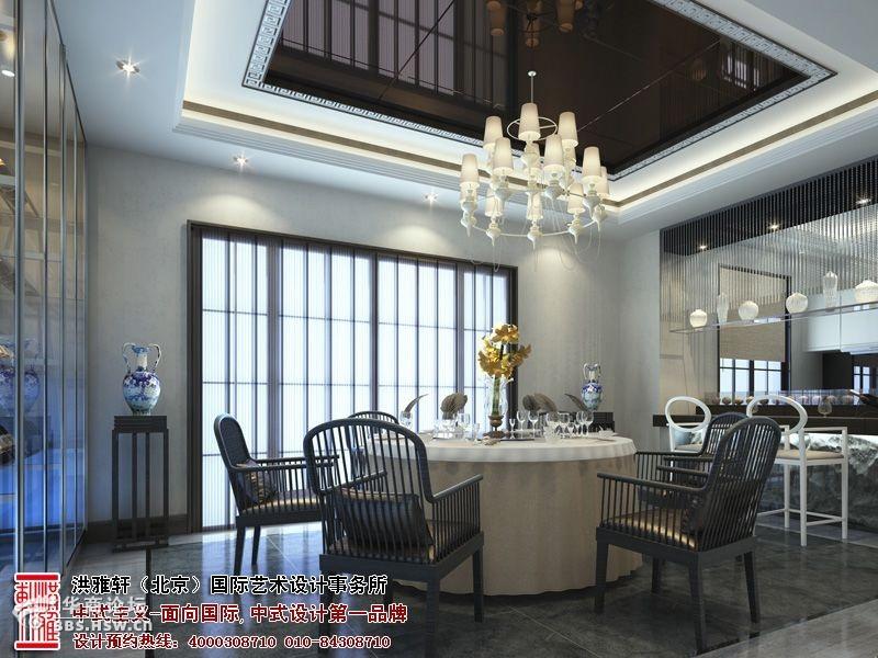 现代样板间的气氛有机结合,让整个中式风格的样板间设计,大气高清图片