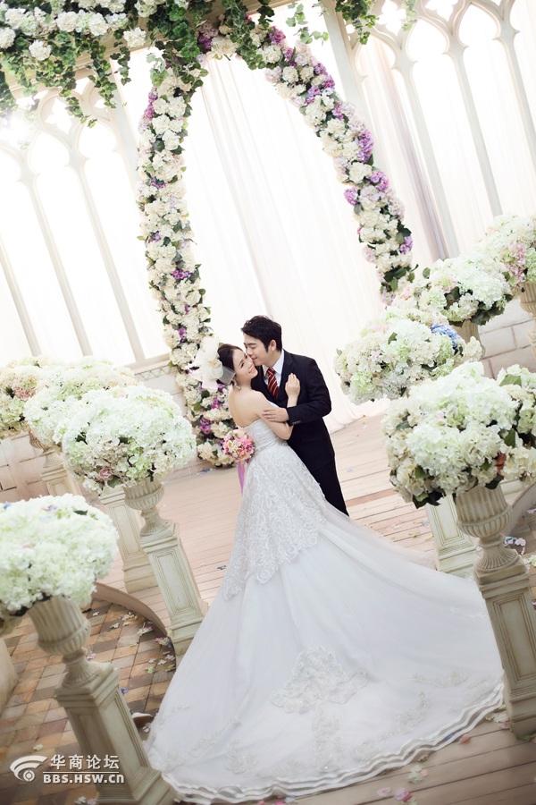 结婚照怎么挂墙上图解-选择婚纱照其实很简单 晒晒我们的唯美婚照