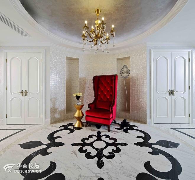 280平米简约欧式风格平层大宅装修实景图