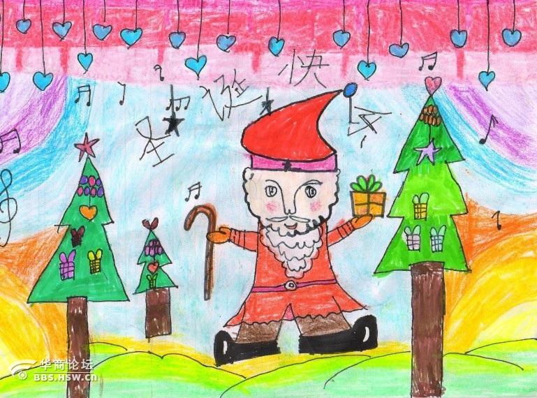 童心画语圣诞梦想 儿童绘画作品征集结束图片