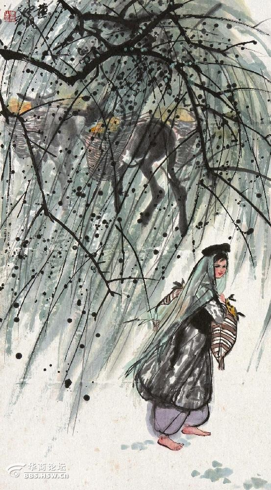 中国近现代十大画家的关系图片