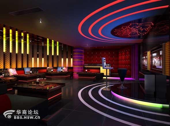 ktv包厢 酒吧装修方案和装修效果图 惊呆