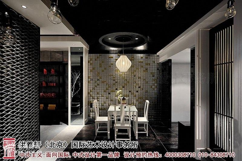 茶叶店装修效果-新中式茶楼装修效果图,引领古典高雅的生活潮流