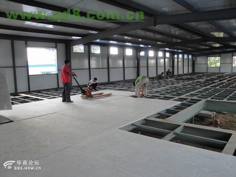 北京昌平区楼房加层室内搭建二层钢结构别墅阁楼隔层设计安装高清图片