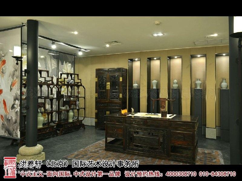 中式家具展厅装修 渲染古典文化的典雅韵味