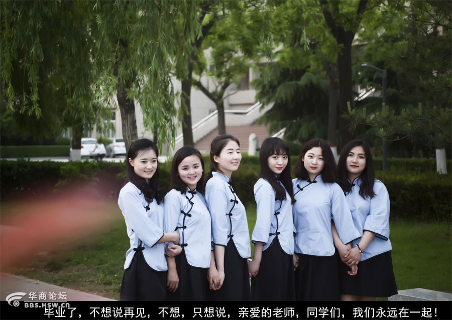 西北政法大学同宿舍5位妹子颜值 爆表
