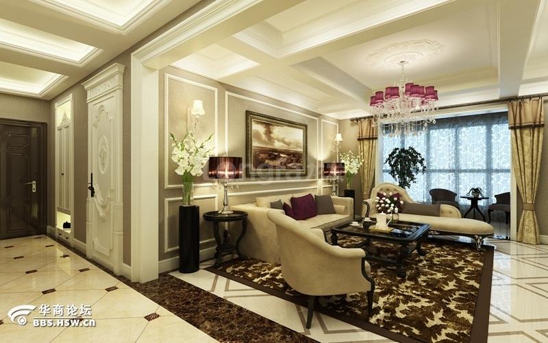 白桦林间 现代简约风格 三居室 装修设计分享
