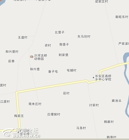 西安沣渭新区最新规划图,精确到村