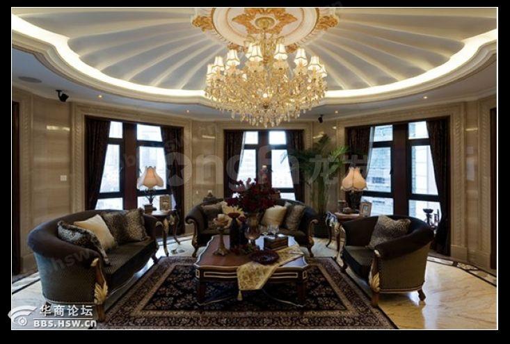 西安龙发装饰 史上最炫欧式房,低调又奢华