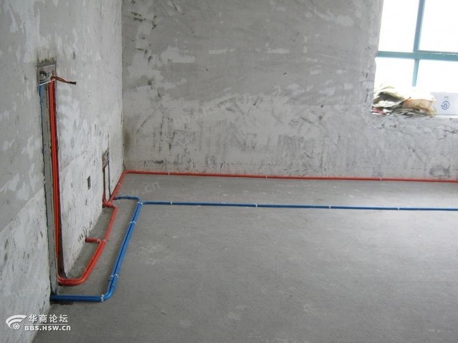 4、 电路改造完成后装修公司会出一份水电图纸,不过有条件