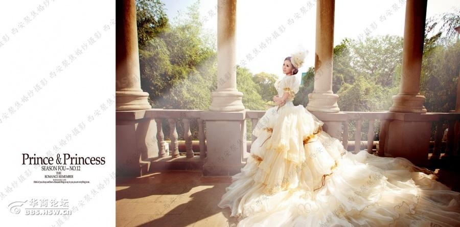 【西安聚焦婚纱摄影】拍婚纱照如何选服装
