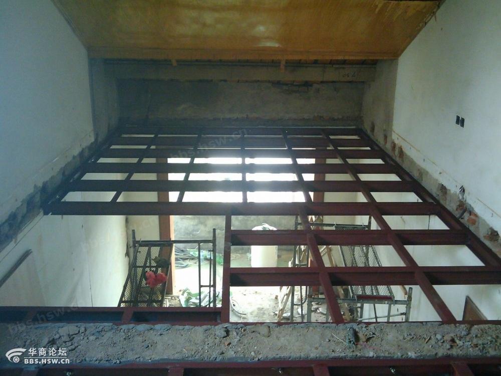 搭隔层设计制作钢结构阁楼搭建楼房挑高二层价格68601950高清图片
